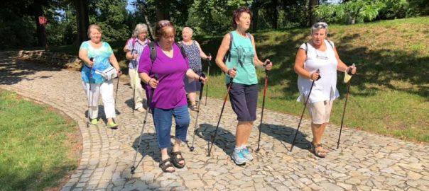 Lekce Nordic Walkingu – podzim 2020