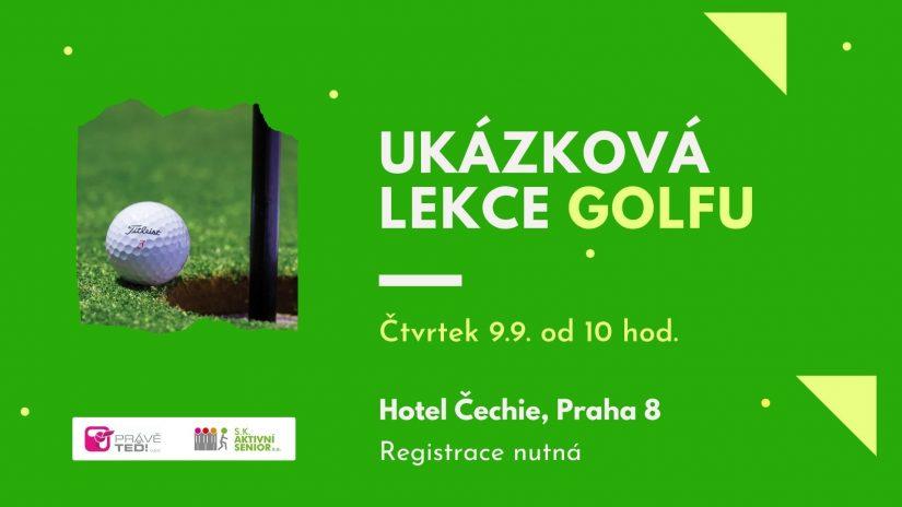 Pojďte si zkusit golf!